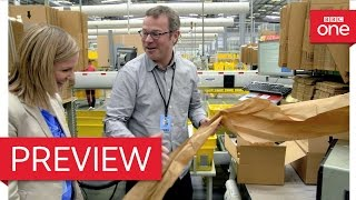 Hugh challenges Amazon's packaging - Hugh's War on Waste: Episode 3 Preview - BBC One