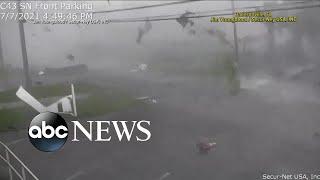 Tropical Storm Elsa slams Northeast