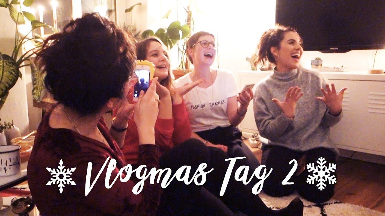 Yoga & hysterische Weihnachtsparty mit Freunden :) - Mindful Vlogmas Tag 2   heylilahey - Yoga & hysterische Weihnachtsparty mit Freunden :) - Mindful Vlogmas Tag 2   heylilahey