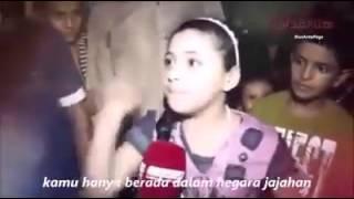 Orasi Gadis Cilik Palestina yang Menggetarkan Zionis Israel