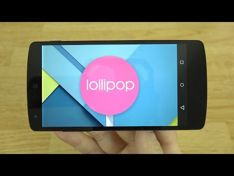 Android 5.0 Lollipop for the Nexus 5 and 7!