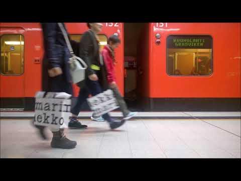 The sound of Helsinki metro