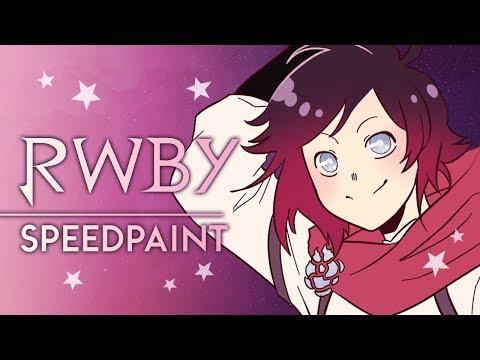 Ruby Rose | RWBY Speedpaint