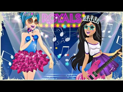 Barbie In Rock'n'Royals - Makeup & Dress Up Games For Girls