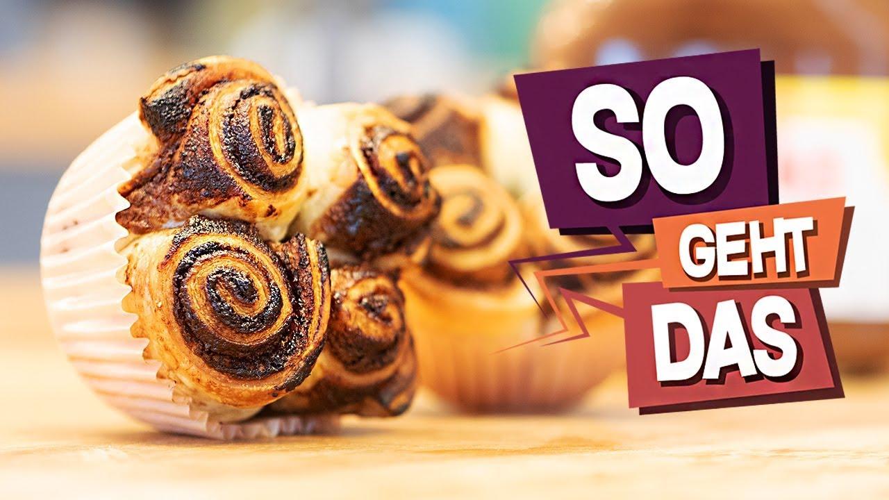2 Zutaten Nutella Muffins So Geht Das Youtube