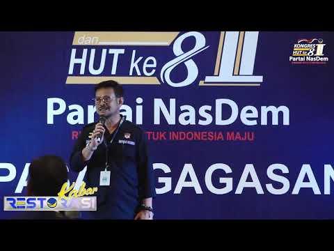 Kongres II Partai NasDem Gelar Pasar Gagasan Karya Anak Bangsa
