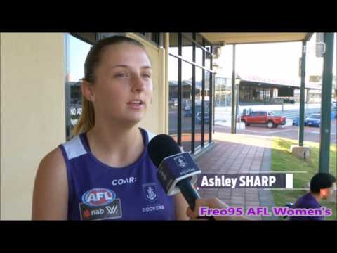 Ashley Sharp - Post Darwin Interview Scratch Match vs Adelaide Crows 23/1/17.