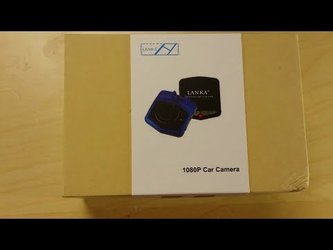 Lanka 1080p Car DVR Dashcam Unboxing, Review & HD Video Quality Test (From Amazon UK)