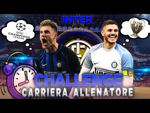 ⏰RIUSCIRÁ uno JUVENTINO a portare L'INTER in CHAMPIONS? CARRIERA ALLENATORE| FIFA 18 CHALLENGE