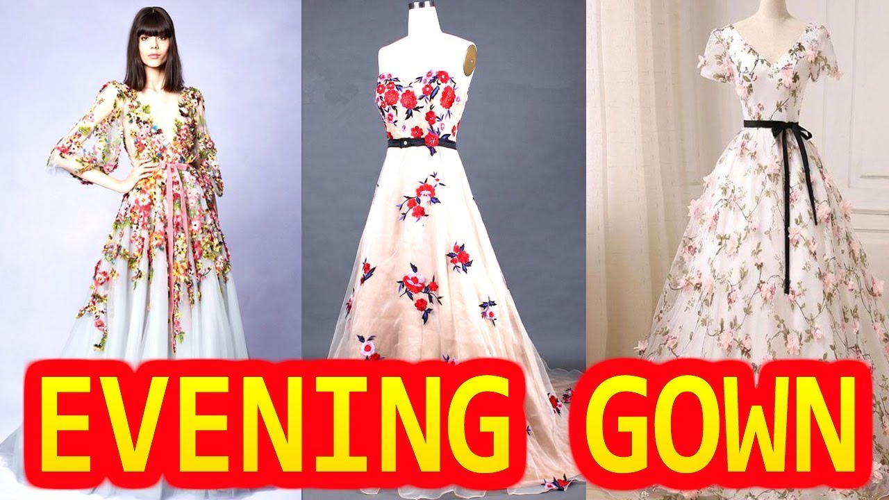 Evening Gown Design Party Wear | New Design Evening Gown Dress ...