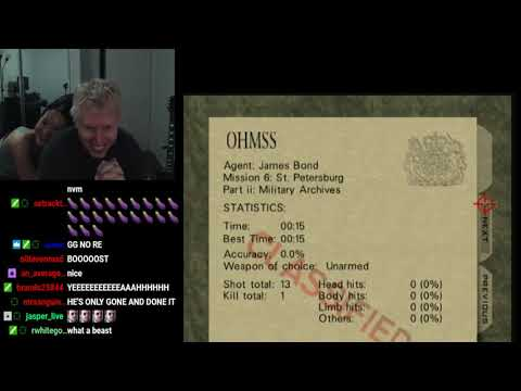 Archives - Agent - 0:15 [Untied World Record] N64 - Goldeneye