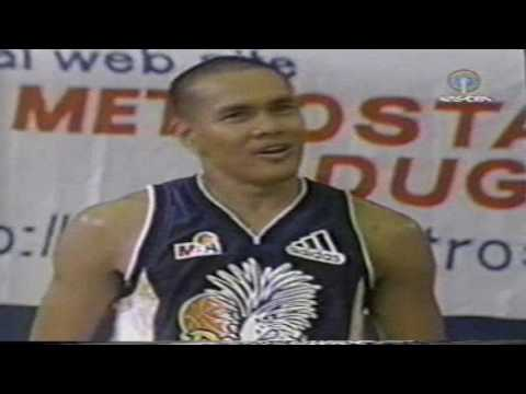 2000 Davao vs  Manila game starts in the 2nd qtr
