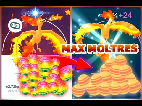 MAXING OUT MOLTRES POKEMON GO | MOLTRES GYM BATTLE | SPENDING 200K STARDUST