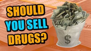 Should You Sell Drugs To Fund Your Rap Career?