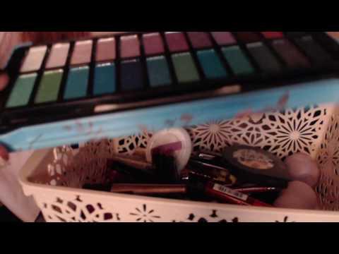 Tingle ~ Relax ~ Sleep ASMR   My Make-up Collection