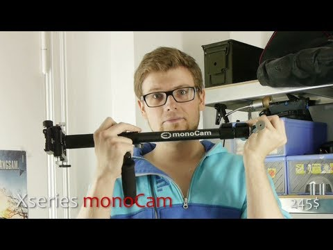 Xseries monoCam - Stabilizer and Monopod in one slick and simple Design REVIEW