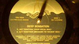 Deep Sensation - Get Together ( Deep Vocal mix )