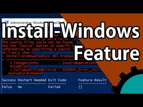 How to fix an Install-WindowsFeature failure in Server 2016