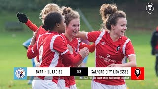 Barr Hill Ladies 0-8 Salford City Lionesses | GMWFL Division 1