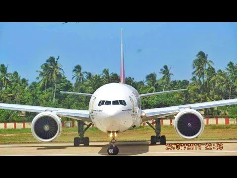 Plane Spotting at Trivandrum International airport Around 20 Aircraft movements in one video...