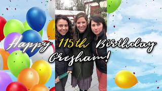 Happy 115th Birthday, Gresham!