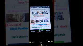 How to download any movies in jio phone