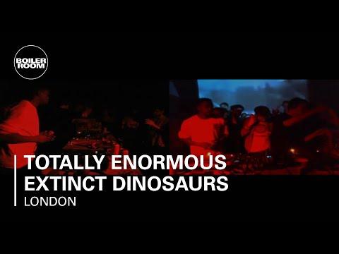 Totally Enormous Extinct Dinosaurs 35 min Boiler Room DJ Set
