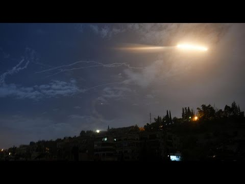 Watch: Israel attacks