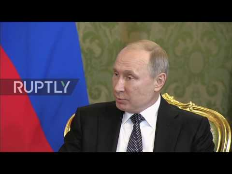 Russia: Putin lauds progressing cooperation with Japan during Abe meeting