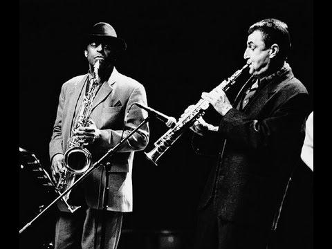 """Dresch Mihály Quartet & Archie Shepp, """"Búzai song"""", album Hungarian bebop, Budapest,  2002"""