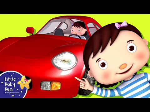 Little Baby Bum | Driving in My Car Song | Nursery Rhymes for Babies | ABCs and 123s