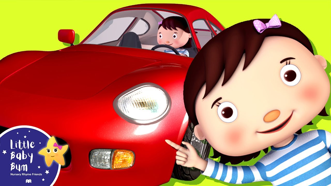 Little Baby Driving In My Car Song Nursery Rhymes For Babies Videos Kids You