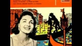 Le Gondolier  :  Maria Candido.et Paul Durand et son orchestre