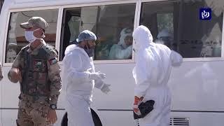 استمرار عزل منطقة المرقب بعد تسجيل إصابات بكورونا (12/4/2020)