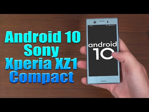 Install Android 10 On Sony Xperia XZ1 Compact (LineageOS 17.1) - How To Guide!
