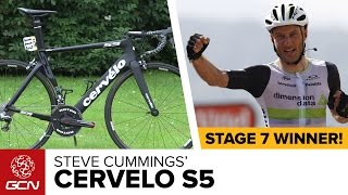 Steve Cummings' Cervélo S5 | Tour De France 2016