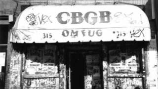 No Cash - (Live at CBGB