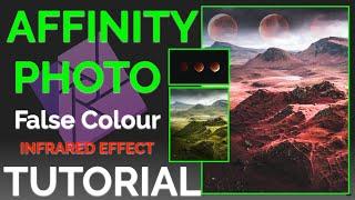 Affinity Photo False Colour Infrared Effect