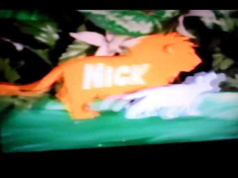 Nick Jr bumper lion's - YouTube Nick Jr Lions