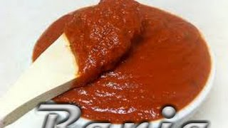 Sauce tomate pour pizza ....طريقة عمل صلصة البيتزا