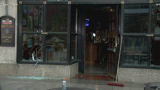 Morning shows damage in Minneapolis after apparent suicide leads to looting, fires