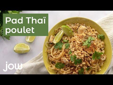 recette-de-pad-thaï-poulet