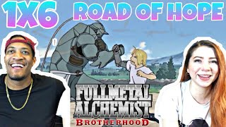 Fullmetal Alchemist: Brotherhood Episode 6 ''Road of Hope'' Reaction/review