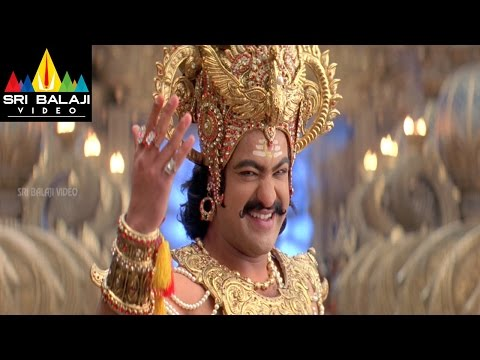 Yamadonga Movie Dialogue War Between Mohan Babu and Jr | Jr NTR, Priyamani | Sri Balaji Video