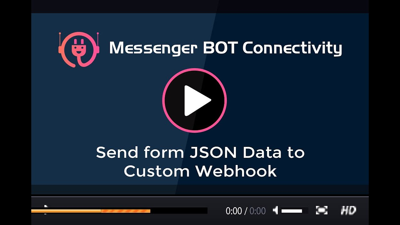 How to send form data to custom webhook url - XeroChat BOT Connectivity Add on
