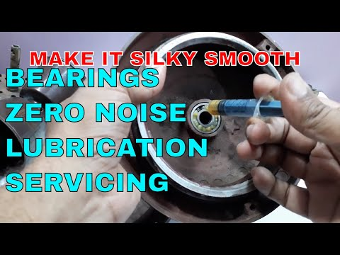 How to do servicing of ceiling Fan.