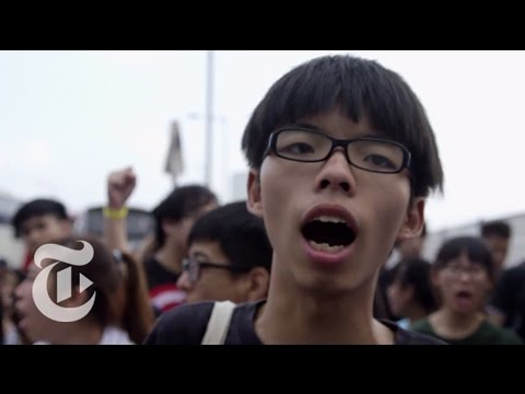 Hong Kong Protest 2014: The Evolution of Joshua Wong | The New York Times