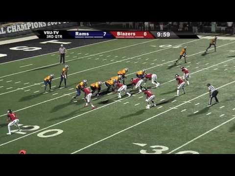 Blazer Sports Report Highlights of 9/3/16 VSU Football vs. Albany State