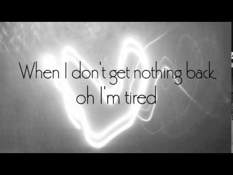 Adele   Tired lyrics