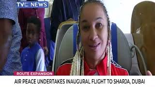 Air Peace undertakes inaugural flight to Sharja, Dubai